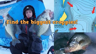 How To Break D๐wn New Lakes To Find GIANT Crappies (Navionics, Lakefinder, and What Baits to Use!)