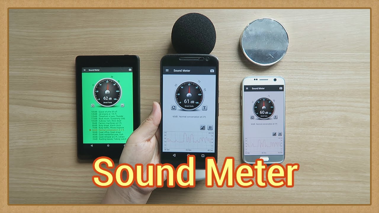 Android boy's Lab: Sound Meter (v1 7) manual