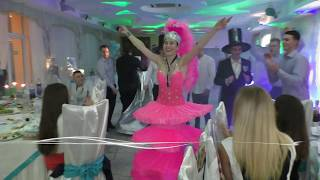 Шоу программа Одесса.Фрагменты программы Шляпы Саксофон шоу Ольги Кульчицкой Одесса Киев