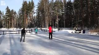 видео Адрес горнолыжного курорта Северный склон в СПб