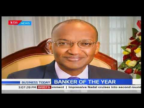 CBK Governor Dr Patrick Njoroge scoops Central Banker of the Year Award