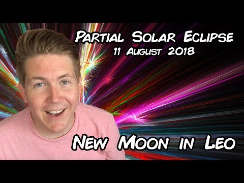 Solar Eclipse New Moon in Leo August 11, 2018 | Gregory Scott Astrology