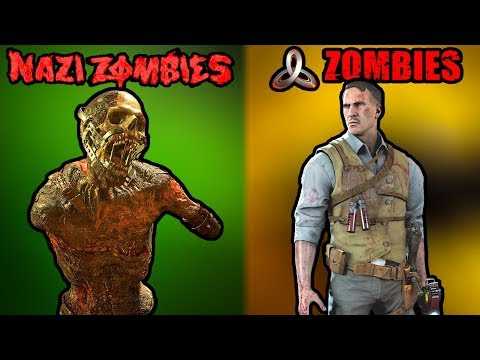 5 Things WW2 Zombies Did BETTER Than Treyarch Zombies ~ Call of Duty World War 2 Zombies