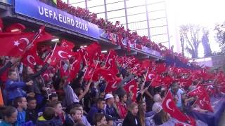 ek cumhuriyeti trkiye uefa euro 2016 ma ncesi mehter marşı tyler diken diken
