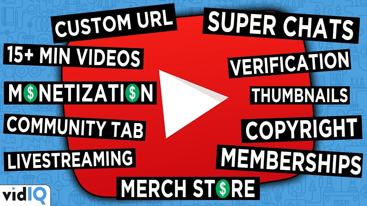 How to Unlock EVERY SINGLE YouTube Feature! 2019 Edition