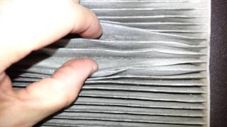 2011 Nissan Rogue Suv - Hvac Cabin Air Filter - Replacing After 37,000 Miles