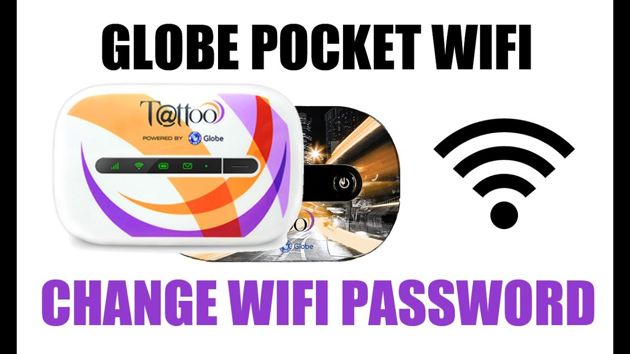 How to change globe lte pocket wifi password
