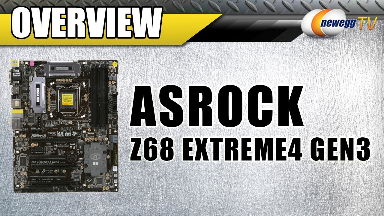ASROCK Z68 EXTREME4 GEN3 XFAST LAN WINDOWS DRIVER DOWNLOAD