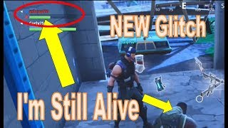 *NEW* Fortnite Glitch - Fortnite Thinks I'm DEAD even though I'm Still ALIVE [Crazy Glitch]