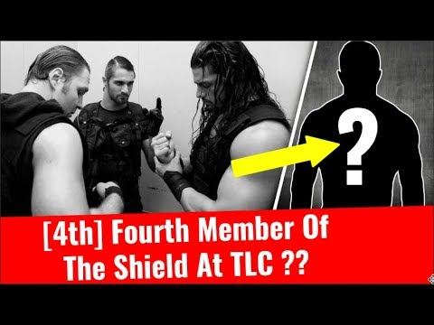 [4th] Fourth Member Of The Shield At TLC ? Who is going to be The Shield Vs miz kane braun the bar