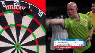 2015 European Darts Matchplay Final, Michael van Gerwen v Dave Chisnall (HD)