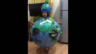 Global warming fancy dress compition