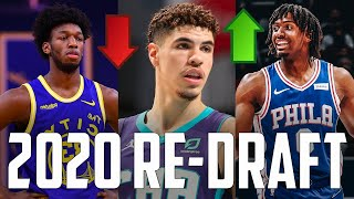 Re-Drafting The 2020 NBA Draft CORRECTLY One Year Later...
