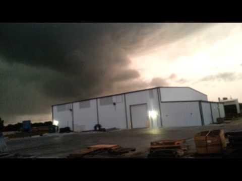 Tornado forming above Broken Arrow, OK