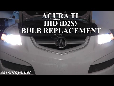 Acura TL HID (D2S) Headlight Bulb Replacement
