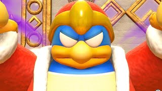 Kirby: Star Allies Gameplay - King Dedede Boss Fight