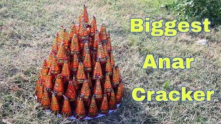 Biggest 100 Anar Crackers Video Experiment
