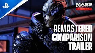 Mass Effect Legendary Edition – Official Remastered Comparison Trailer | PS5
