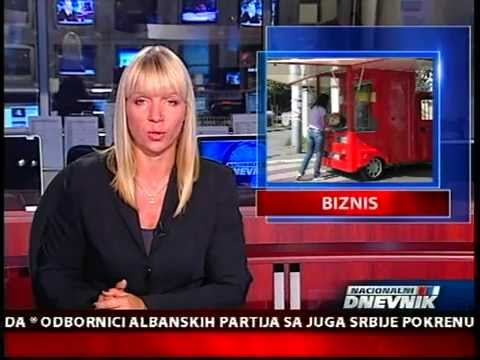 Serbian Food Trucks 1.st. - Viršlomobil,  famous hot dog's ; TV PINK