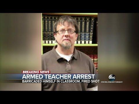 Teacher locks himself in classroom with gun _ 03/01/2018 (abc.us)