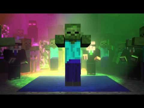 Minecraft-мобы танцуют-анимация