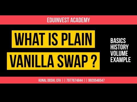 What is SWAP - Plain Vanilla Swap. By prof. Kunal Doshi, CFA