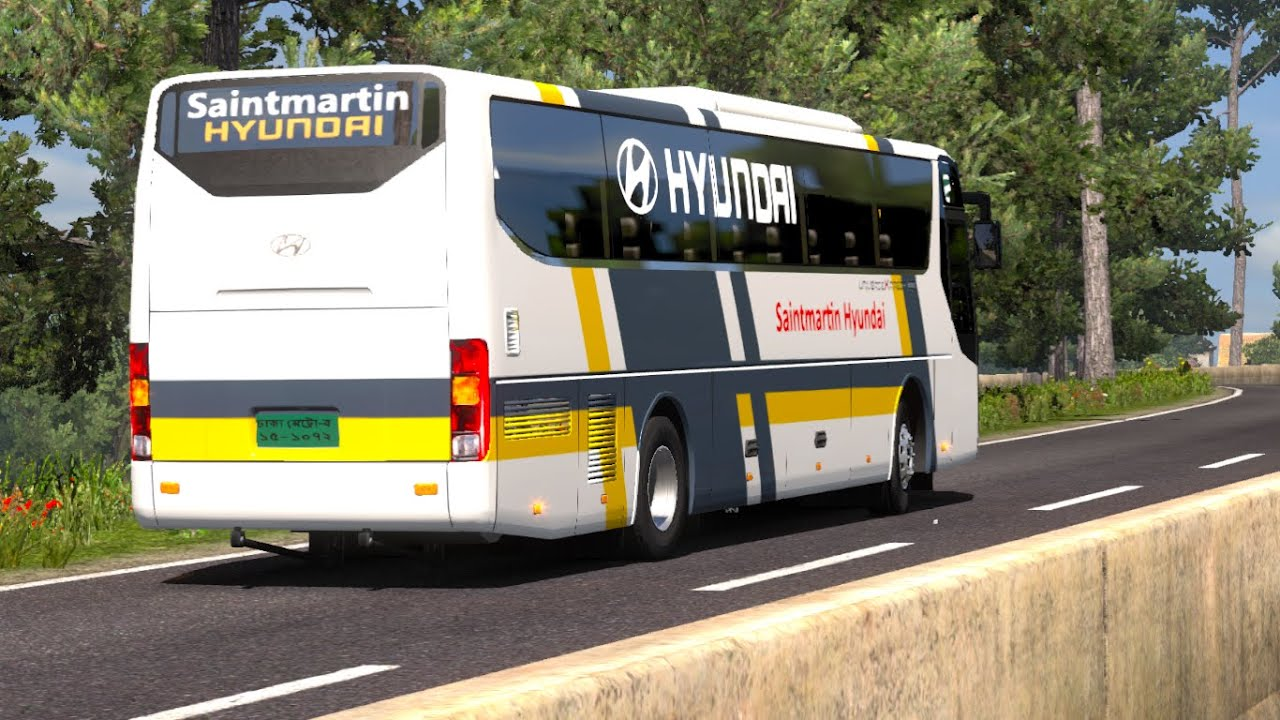 #RouteRequest Khagrachari to Dhaka   Saintmartin Hyundai Paribahan Ltd   Hyundai UXN   Green BD Map  #1