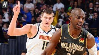 Denver Nuggets vs Oklahoma City Thunder - Full  Highlights   February 21, 2020   2019-20 NBA Season