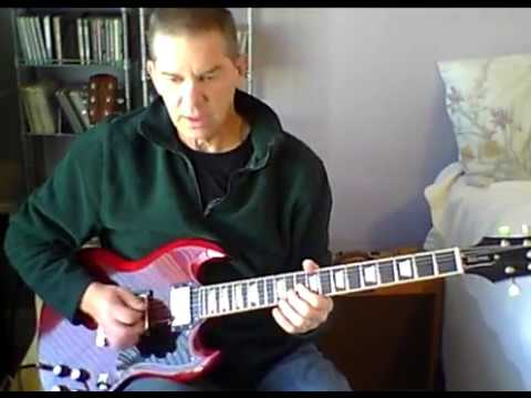 Hanging On The Telephone-Guitar cover slow and regular speed- The Nerves