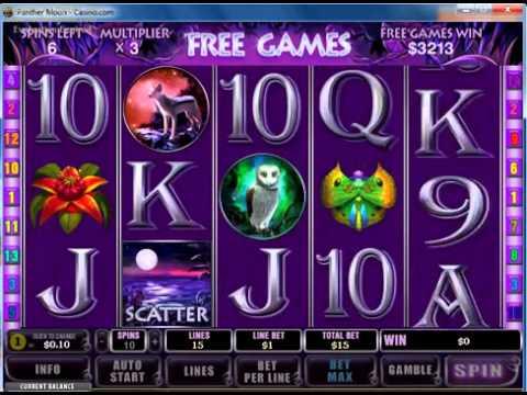 Игровой автомат Panther Moon - на Gamble2fun.com