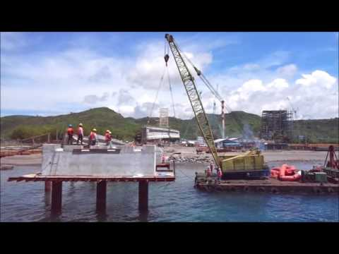 Offshore Installation of Pre-stressed Girders