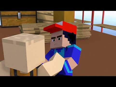 "Ejen Ali OP ""Misi Bermula""- Remake (Minecraft Animation)"