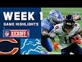 Bears vs. Lions Week 1 Highlights   NFL 2020