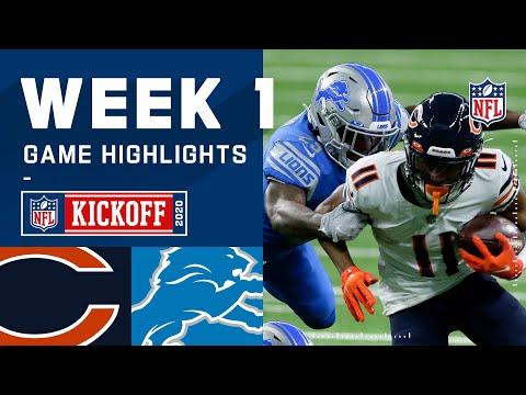Bears vs. Lions Week 1 Highlights | NFL 2020