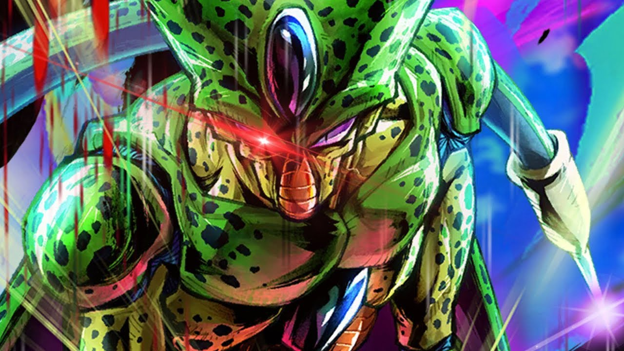 Imperfect Cell Has A Ball Sack For A Face In Dragon Ball Legends Youtube