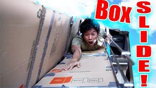 Box Slide!! *DO NOT TRY AT HOME!!*
