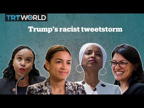 The internet buzz over Trump's racist tweet