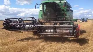 Składany heder John Deere 2264 - Żniwa 2016 / Harvest 2016