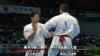 2017年10月14・15日、東京体育館にて開催された第49回全日本空手道選手...