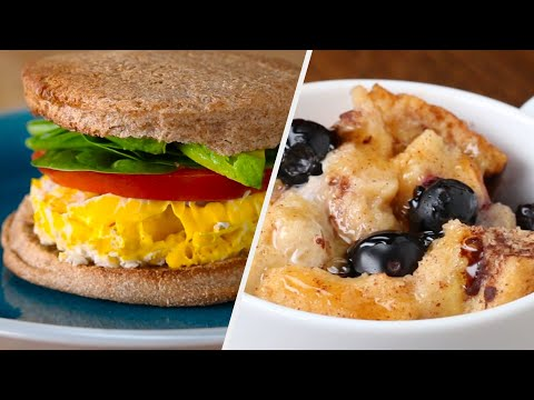 Microwave Breakfast Ideas For People Who Are Always Running Late • Tasty