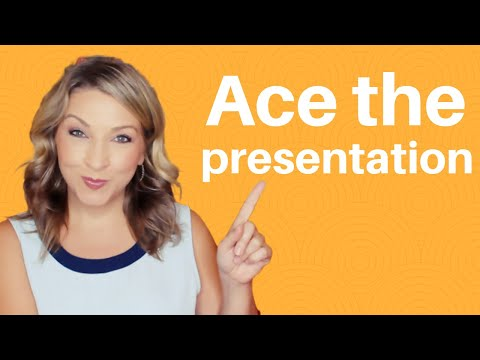 Interview Tips: Ace an interview presentation