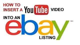 Как вставить видео c YouTube в объявление на eBay (Секретный код) | Урок №23