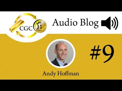Crypto Audioblog #9, w/Andy Hoffman - Crypto (and ICOs) to Subsume Legacy Money