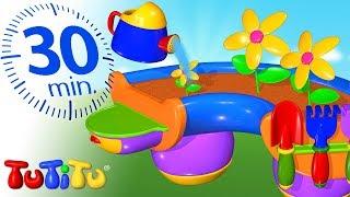 Игрушки для малышей | Песочный набор | 30 минут ТуТиТу Игрушки