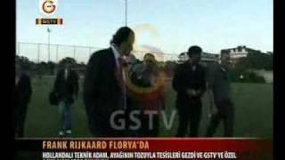 Frank Rijkaard Florya'da