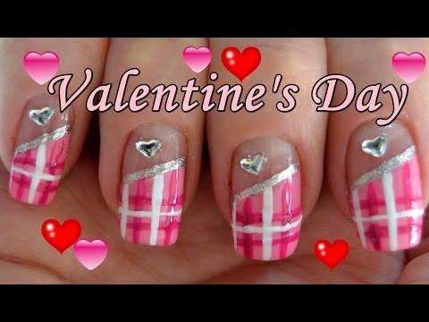 ♥ Valentine's Day Nail Art ♥ Дизайн ногтей на День Святого Валентина