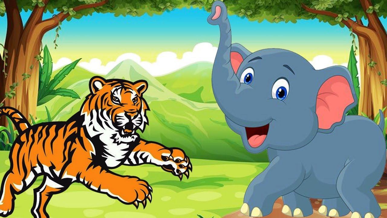 The careless tiger the jumbo elephant short story - Show me a picture of the tiger ...