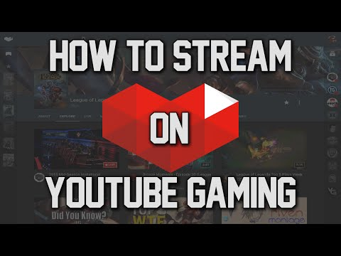 HOW TO LIVESTREAM ON YOUTUBE GAMING!