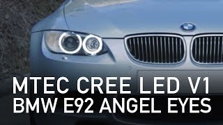 MTEC CREE LED Angel Eyes E92 - Review