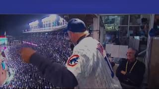 Bill Murray Sings Take Me Out To The Ball Game World Series with lyrics